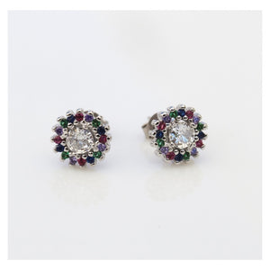 Colour Stud Earrings