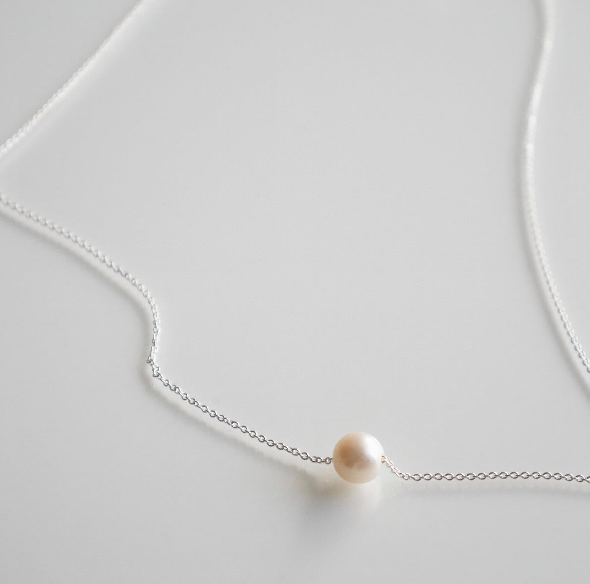Tiny Freshwater Pearl Necklace