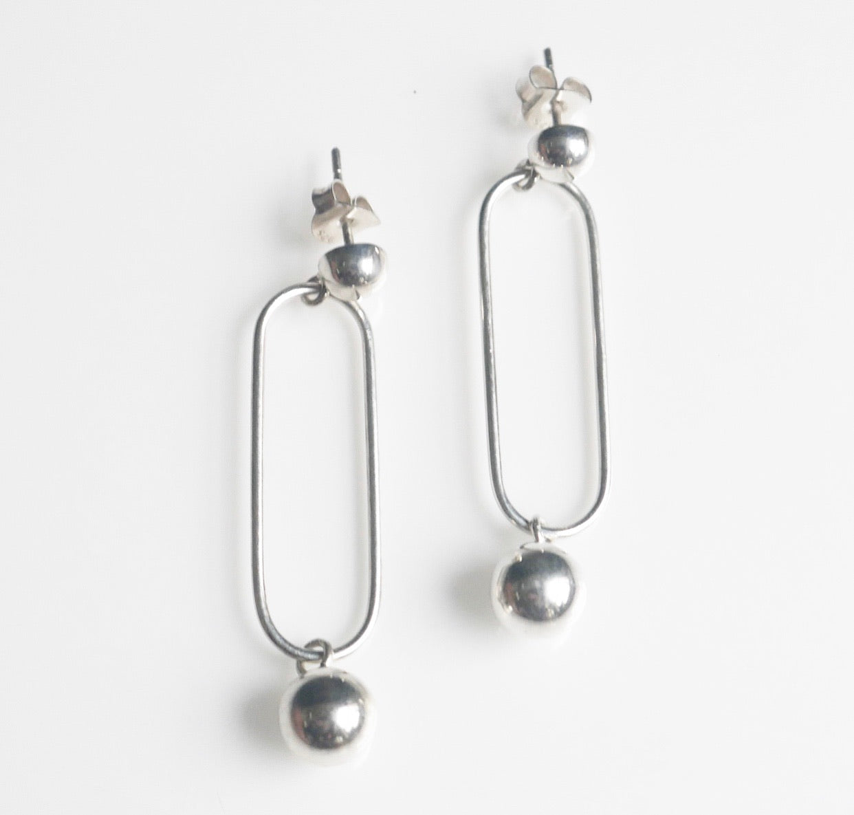 Ball Art Wire Earrings