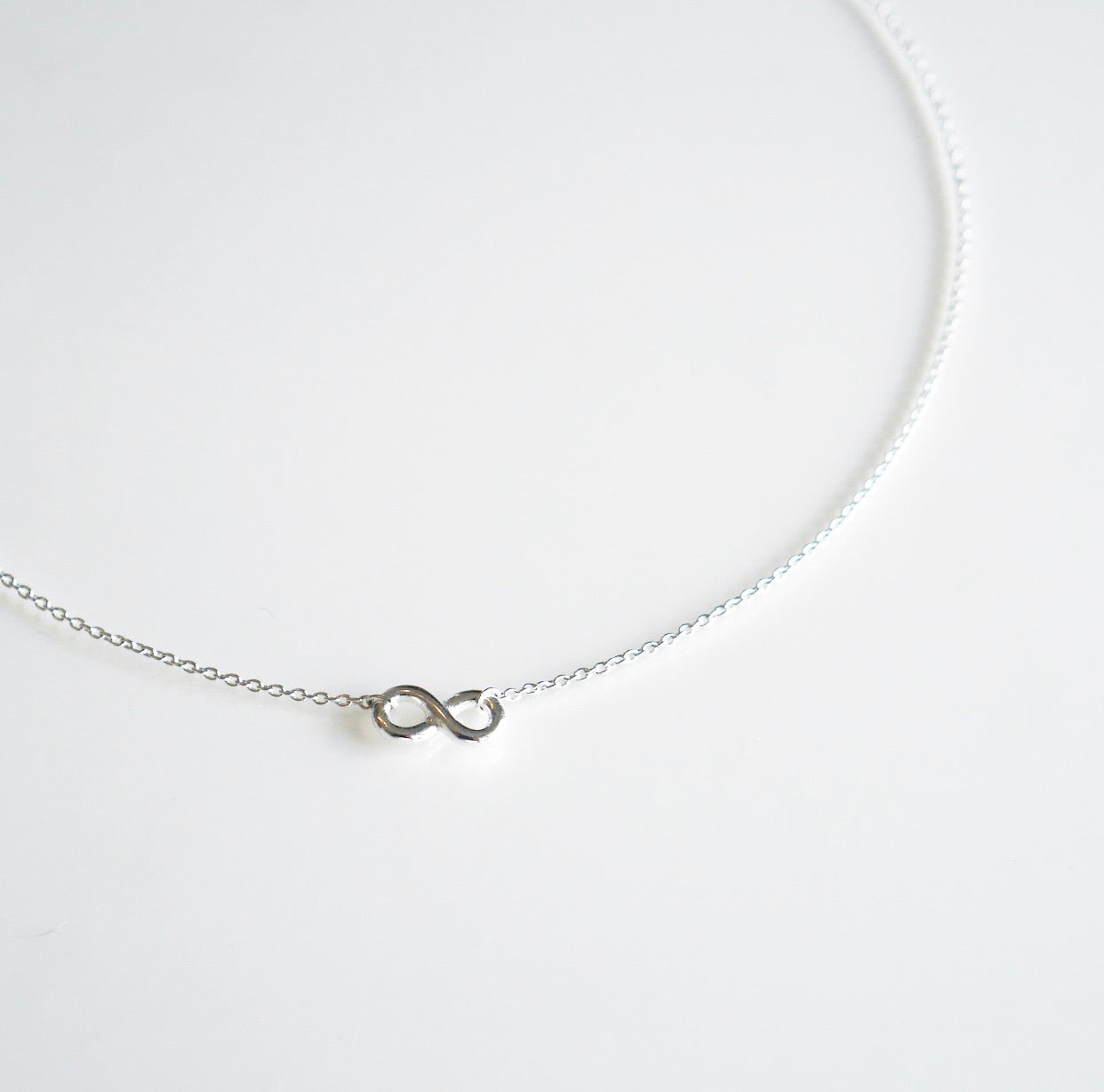 Infinity Love Choker Necklace