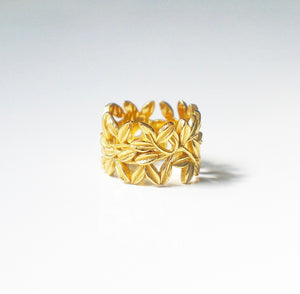 Golden Goddess Ring