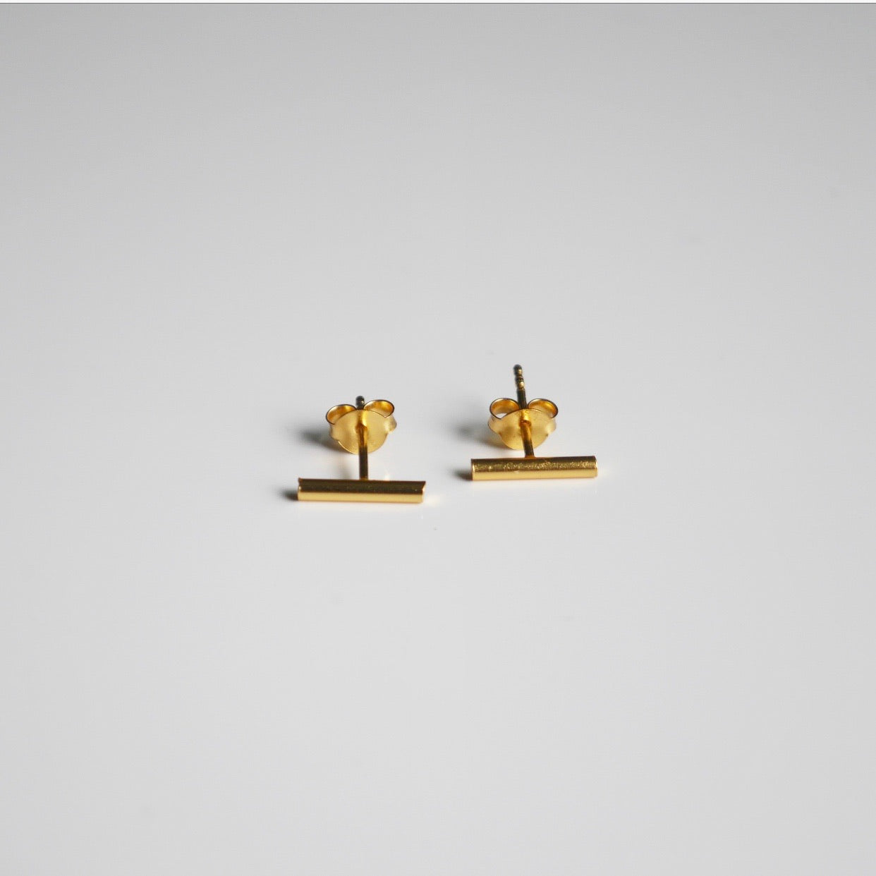 Little Bar Stud Earrings