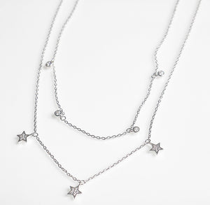 Star Layered Short Necklace