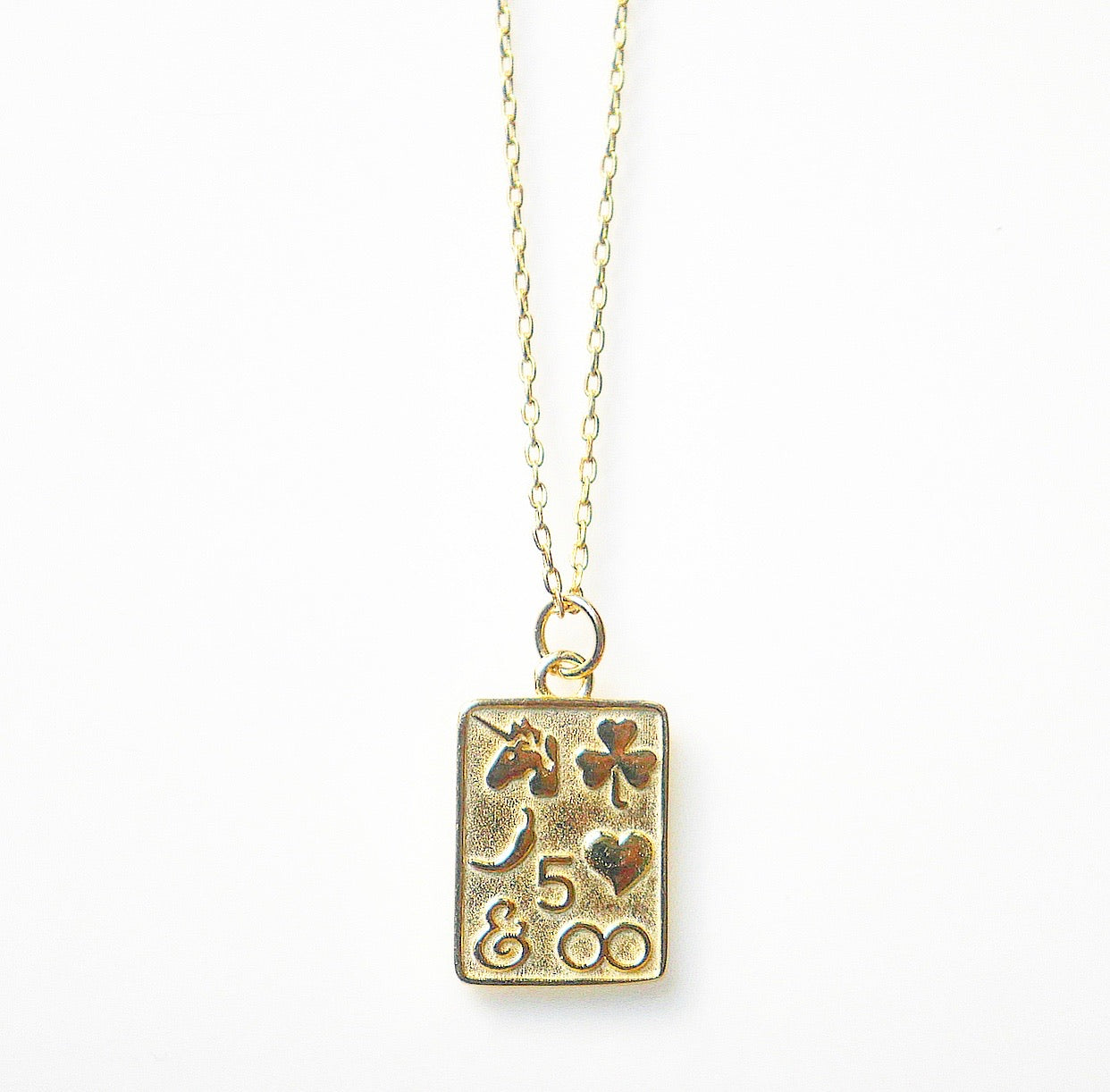 Lucky Signs Necklace