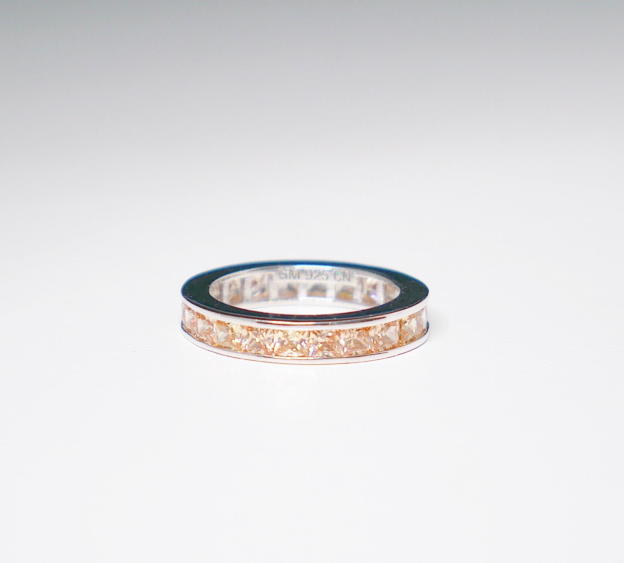 Miami Tan Baguette Ring