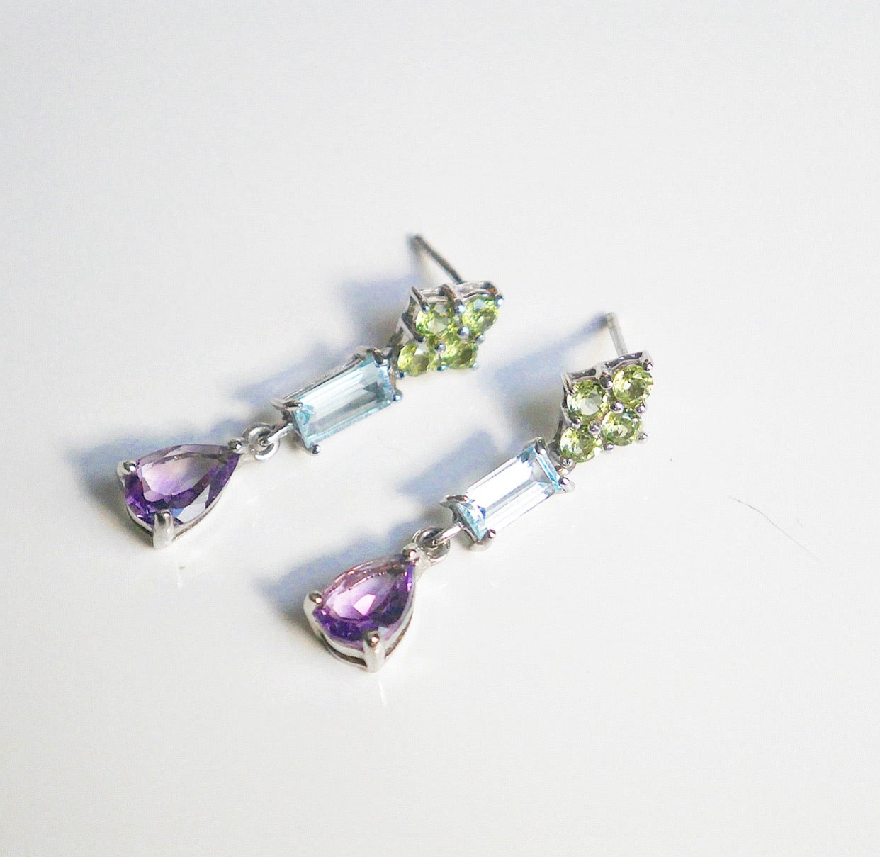Gothic Gemstones Earrings