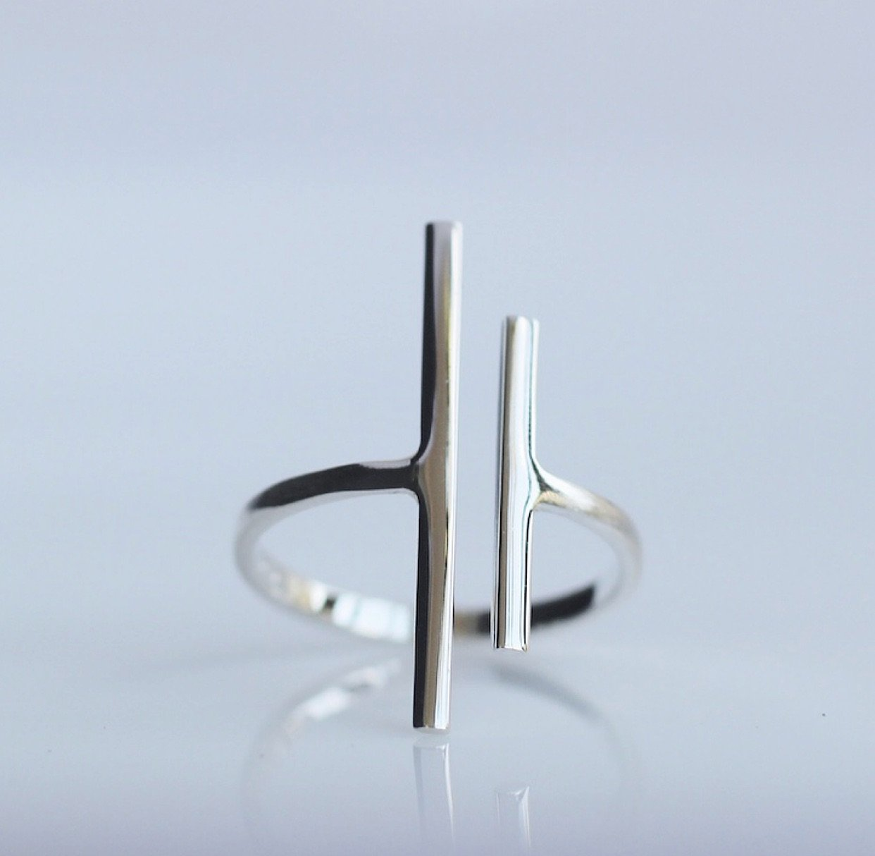 Trendy Bar Ring