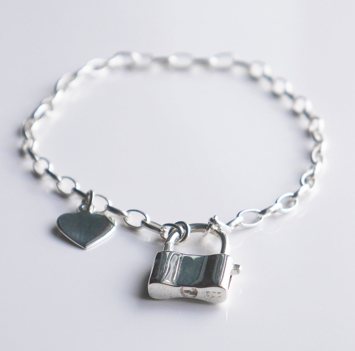 Lock Love Links Bracelet