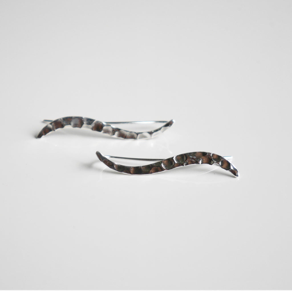 Silver Hammered Ear Crawler