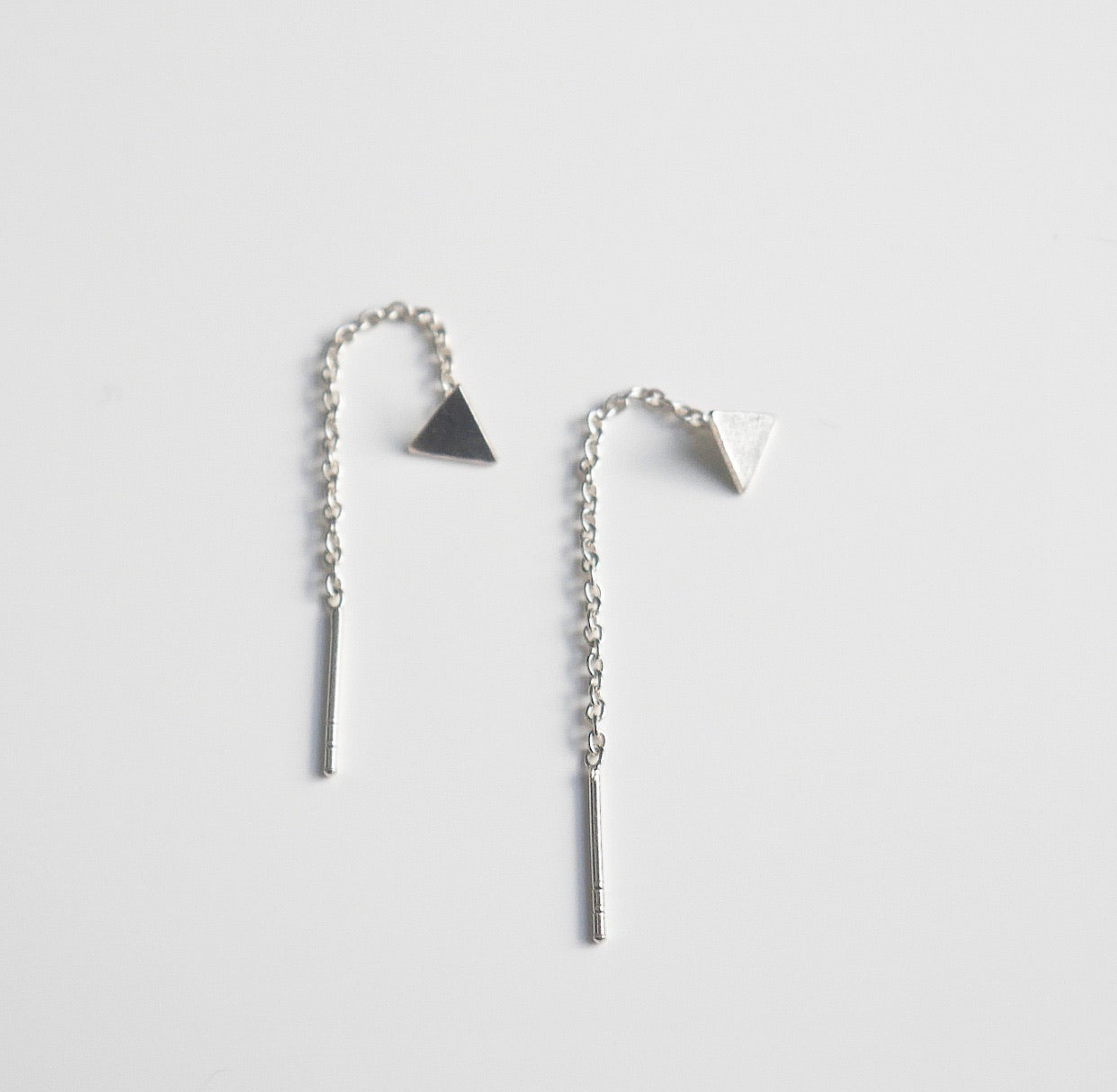 Triangle Thread Earrings