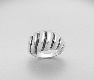 Luxe Sterling Silver statement ring by Kesley