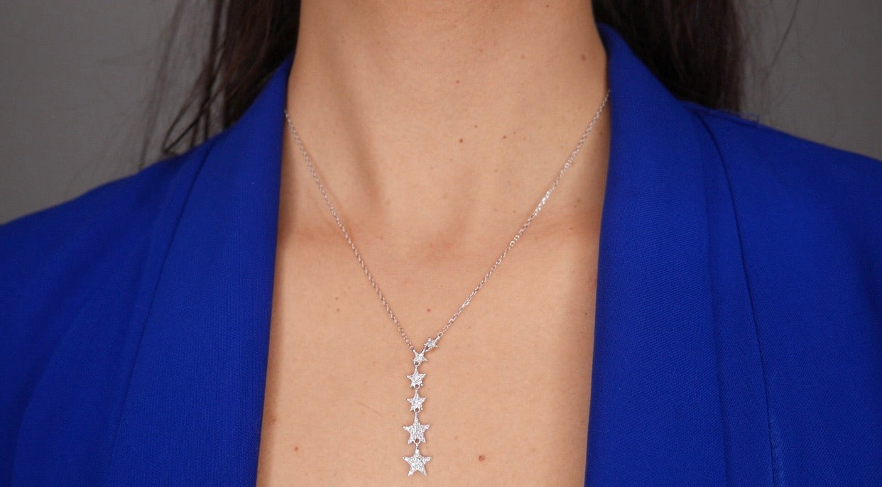 Star Dream Lariat Necklace