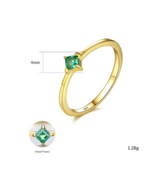 Emerald Daily Ring