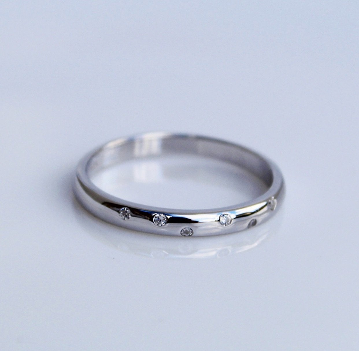 Minimal Crystal Ring