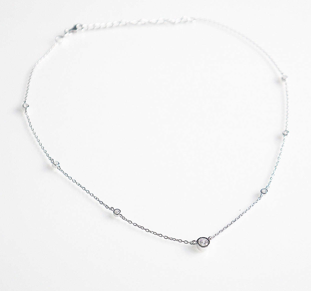Cocktail Crystal Choker