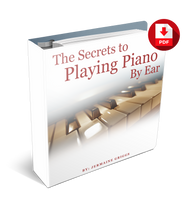 Load image into Gallery viewer, The Secrets To Playing Piano By Ear Complete 300-pg PDF Home Study Course (Instant Download)