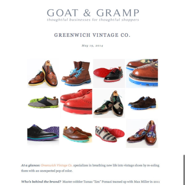 GV in Craftsman Shopping Blog Goat & Gramp
