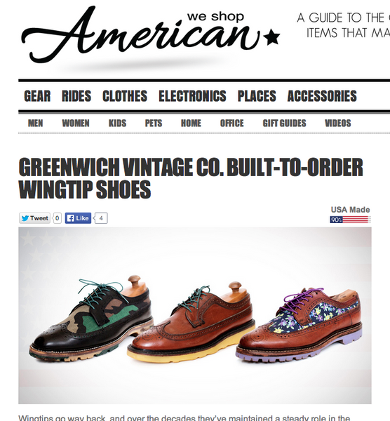 GVco in American-Made Blog 'We Shop American'