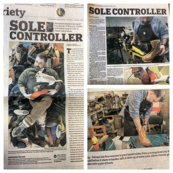 "GVco in Star Tribune Article ""Sole Controller"""