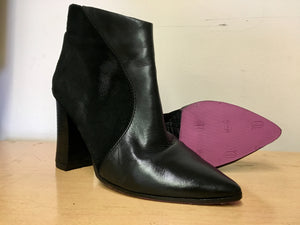 Classic: Women's Heel and Half Rubber Sole