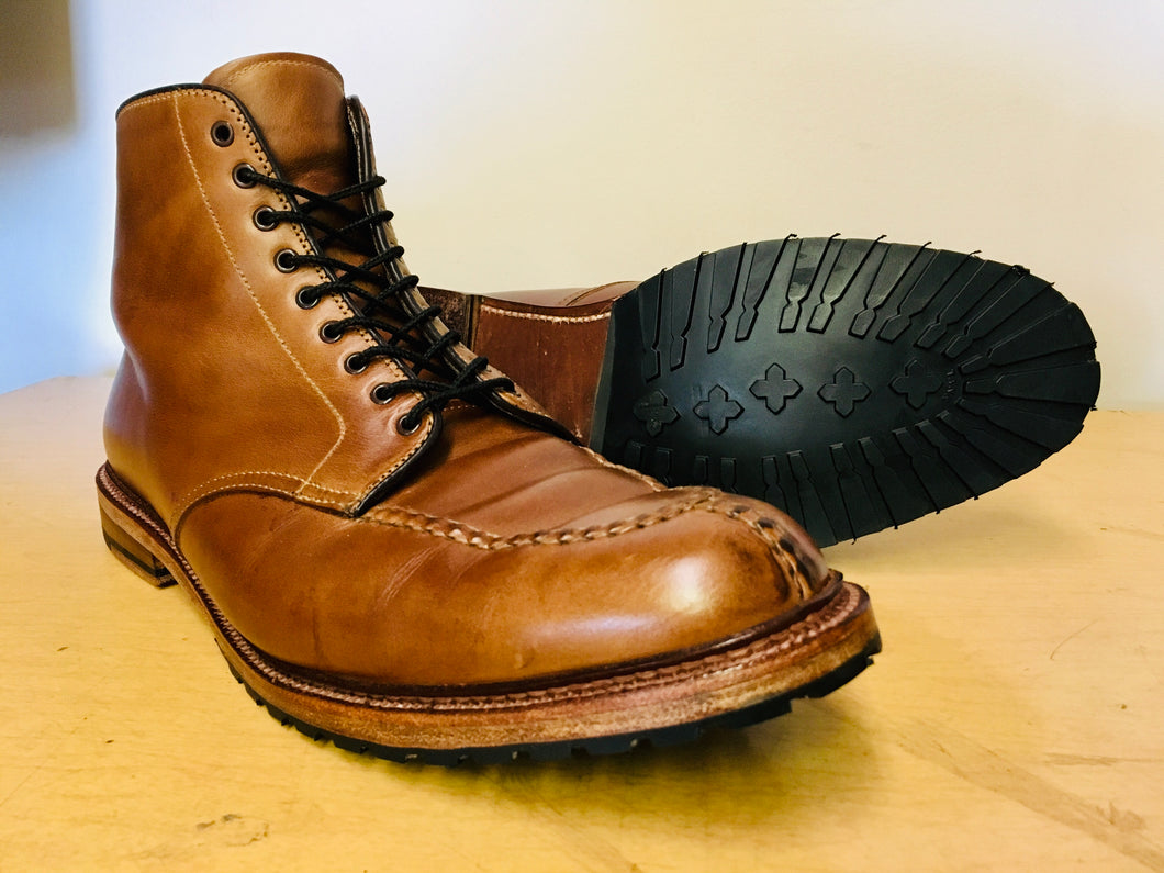 Classic: Rubber Lug Half Outsole with Heel