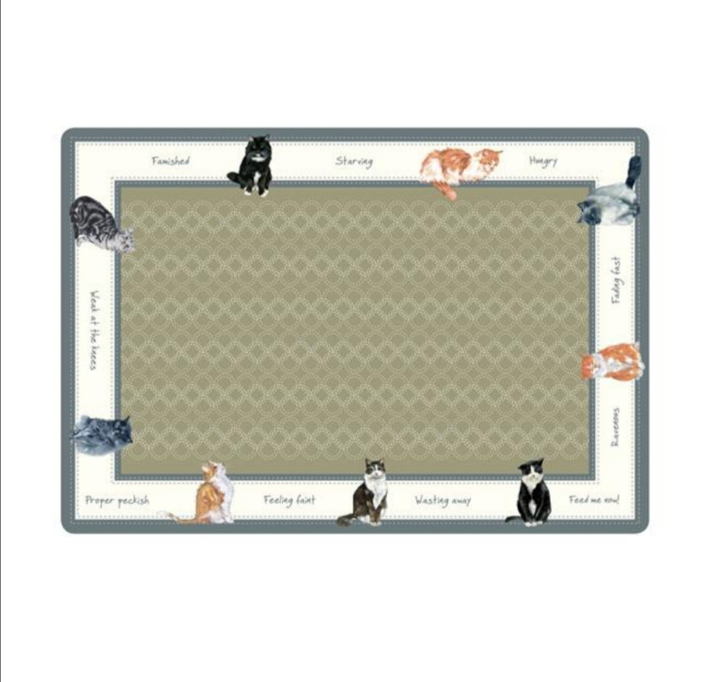 Cat Food Bowl Mats