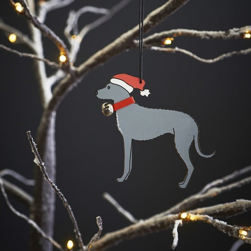 Christmas Decoration - Lurcher