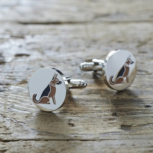 Cufflinks - German Shepherd