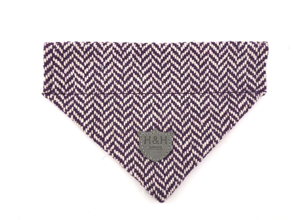 Herringbone Tweed Bandana