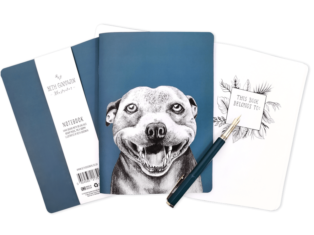 Staffy Notebook