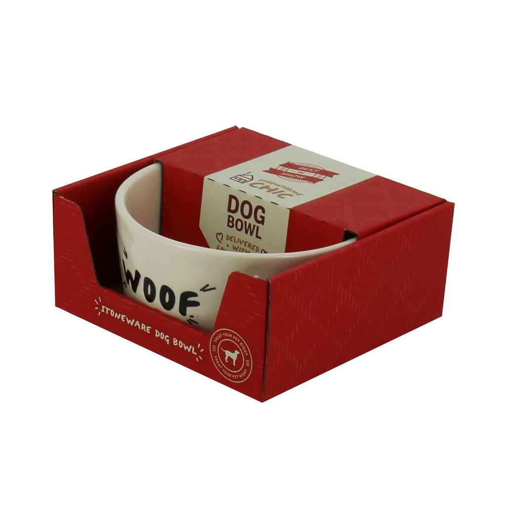 Dog Bowl - Woof Design