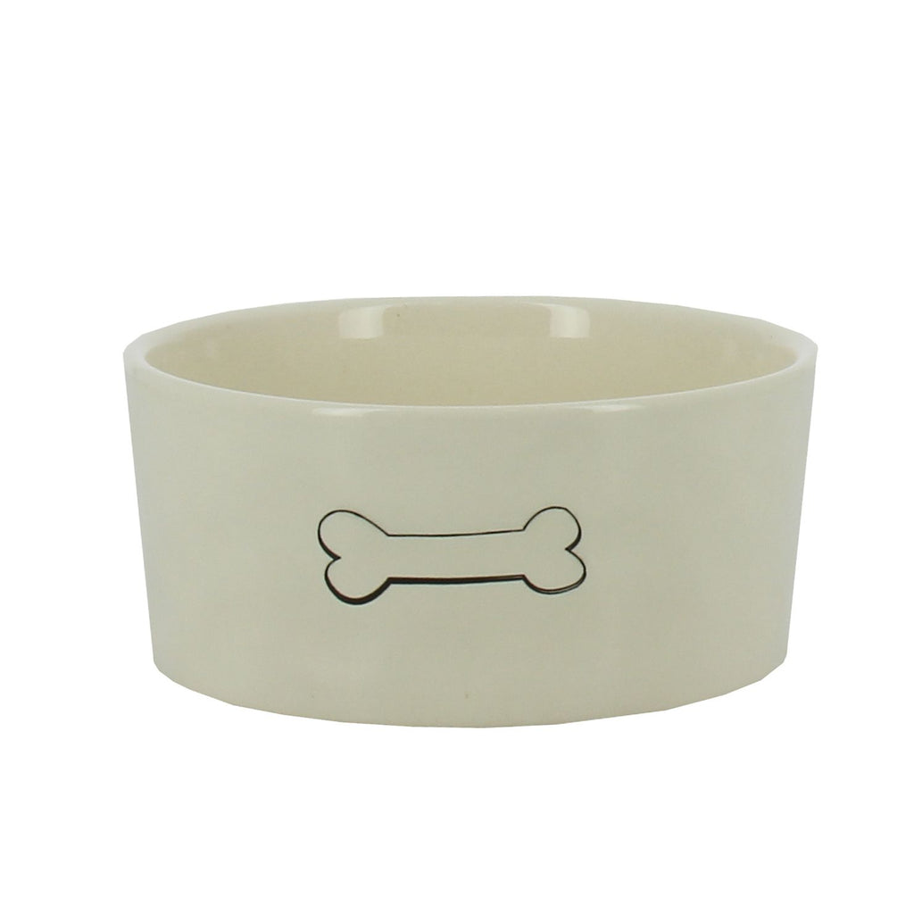 Dog Bowl - Bone Design
