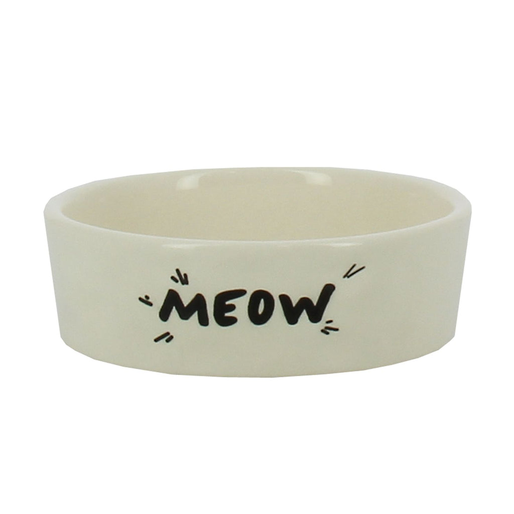 Cat Bowl - Meow Design