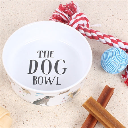 Debonair Dogs Dog Bowl Large