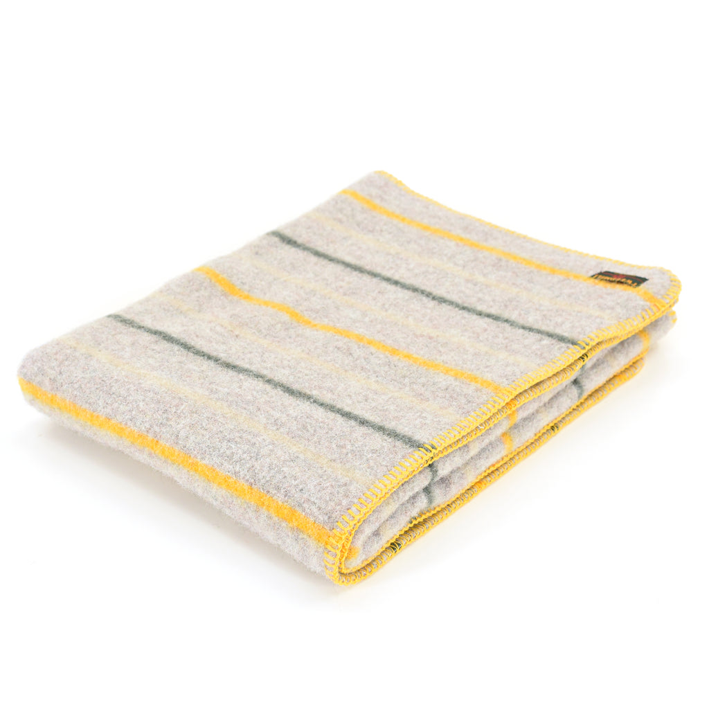 All Wool Stripe Dog Blanket