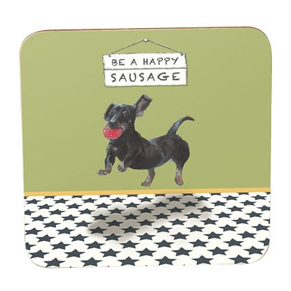 Coaster - Happy Sausage