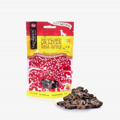 Ox Liver Deli Bites (For Dogs)