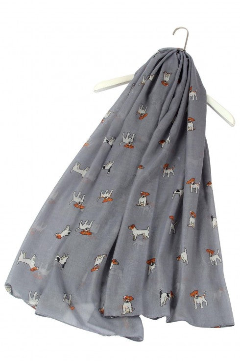 Jack Russell Terrier Design Scarf