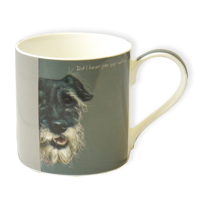 Boxed Fine Bone China Mug - Walkies