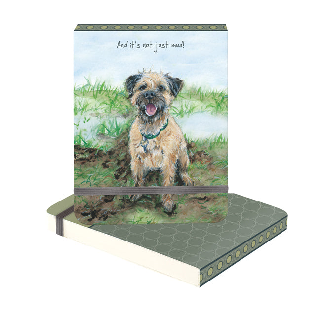 Border Terrier - Flip Notebook