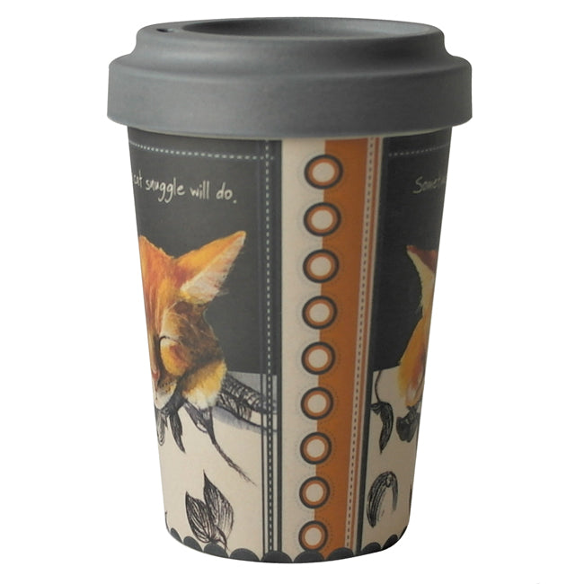 Bamboo Travel Mug - Snuggle!