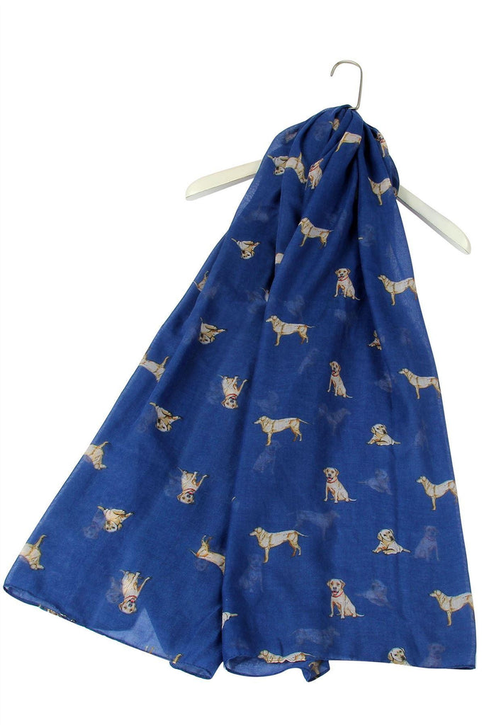 Golden Labrador Design Scarf