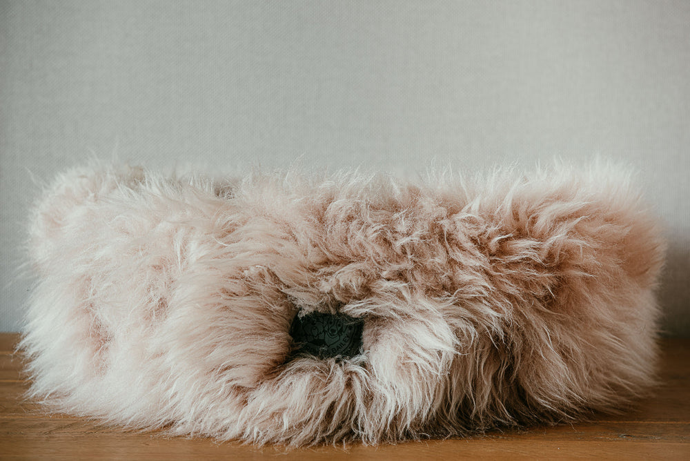 Sheepskin Pet Bed