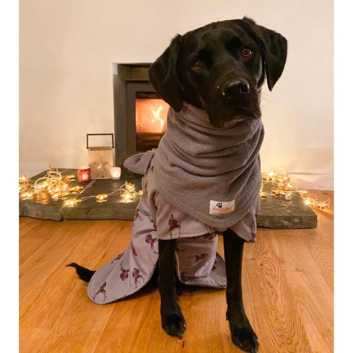 Dog Robes Drying Coat - Limited Edition Stag