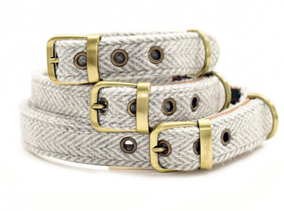 Tweed Dog Collar