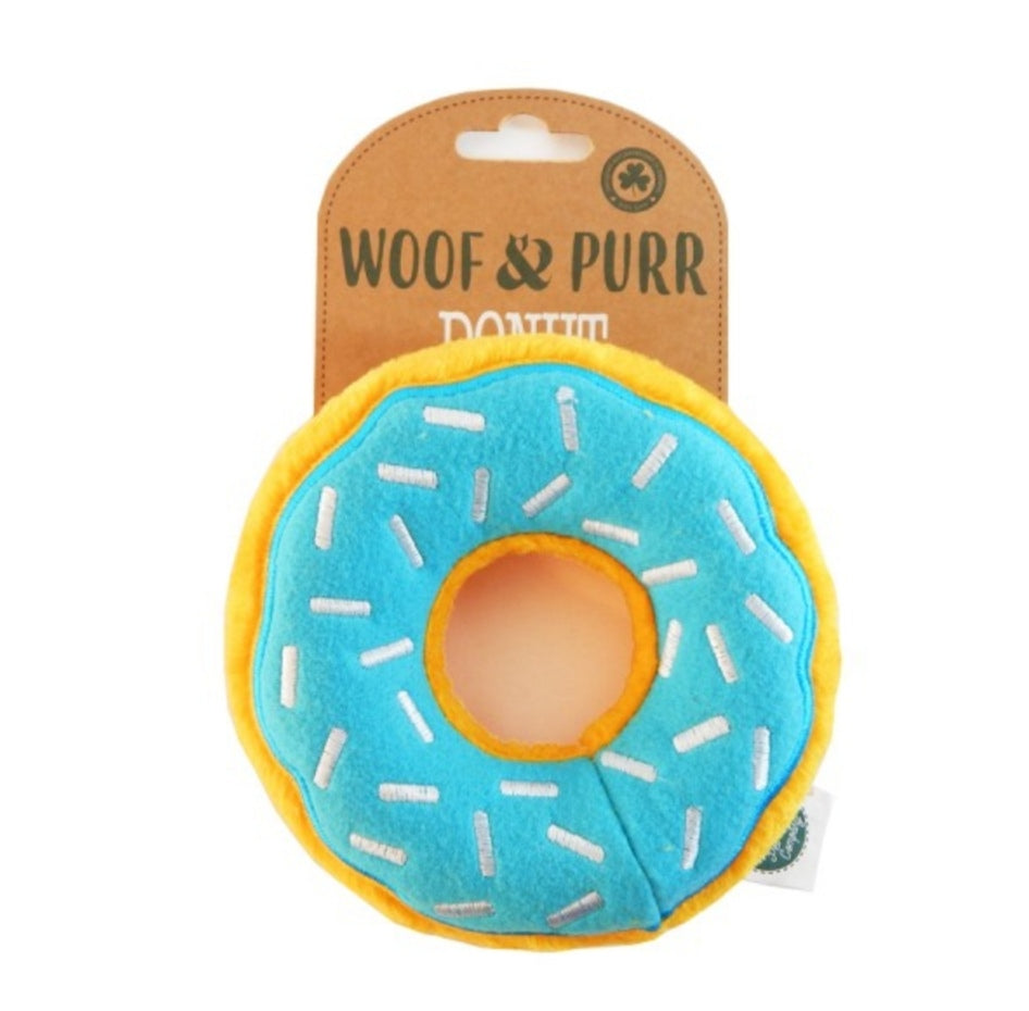 Donut Plush Pet Toy