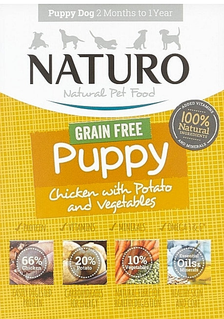 Naturo Puppy Food (Click & Collect Only)