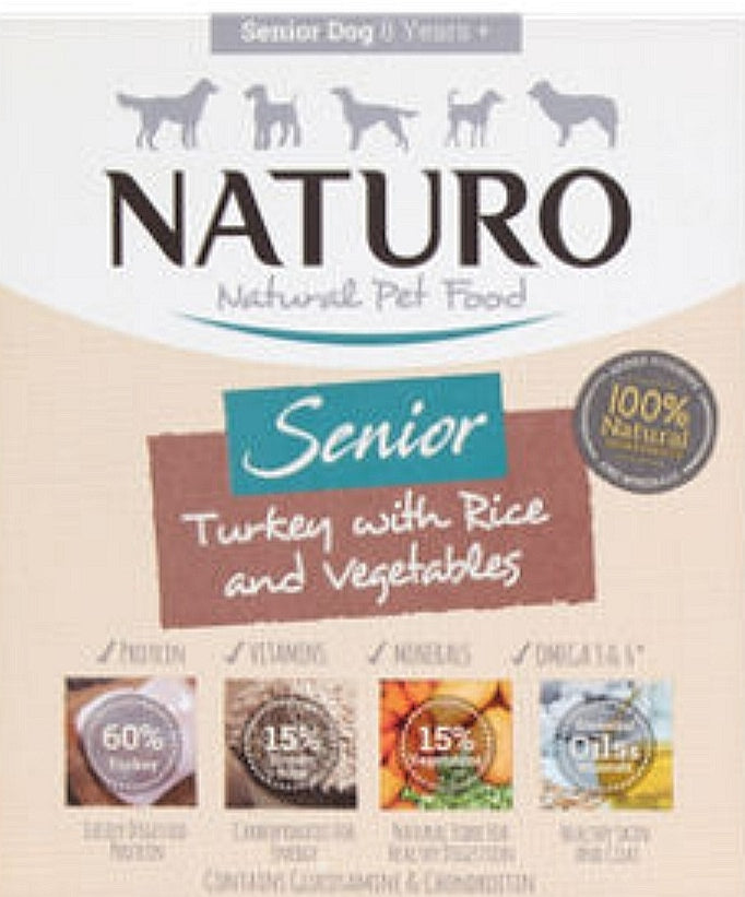 Naturo Dog Food (Click & Collect Only)