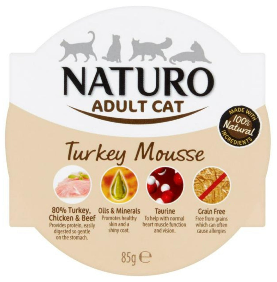 Naturo Cat Mousse (Click & Collect Only)