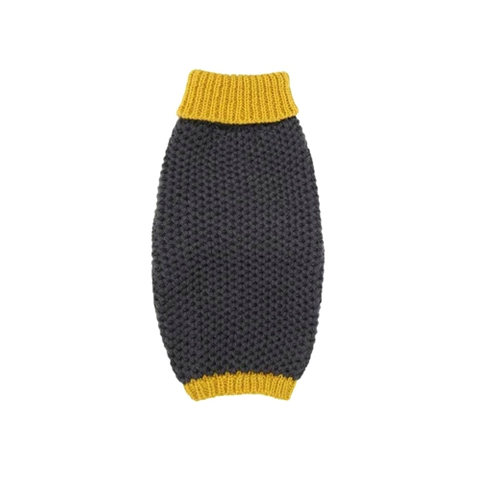 Smithy Yellow Poloneck Jumper